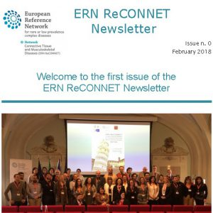 ERN ReCONNET Newsletter n. 0 – February 2018
