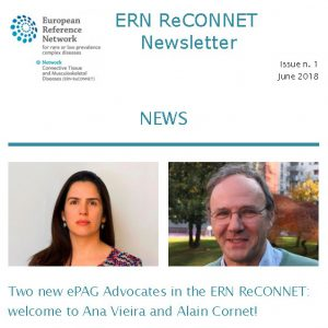 ERN ReCONNET Newsletter n. 1 – June 2018
