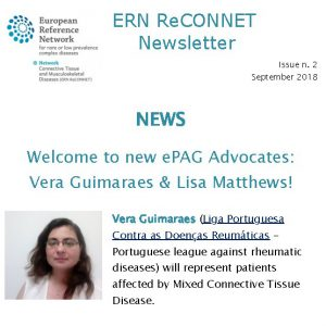 ERN ReCONNET Newsletter n. 2 – September 2018