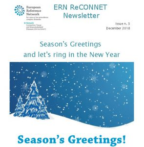 ERN ReCONNET Newsletter n. 3 – December 2018