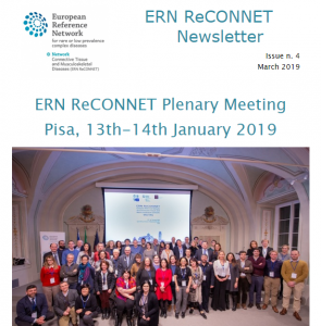 ERN ReCONNET Newsletter n. 4 – March 2019