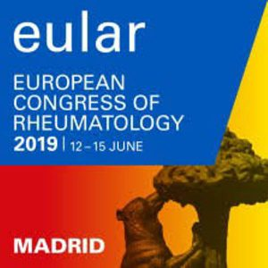 EULAR European Congress of Rheumatology (12-15 June 2019, Madrid)