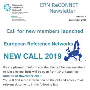 ERN ReCONNET Newsletter n. 6