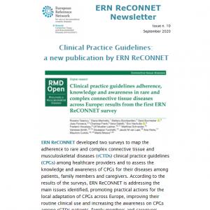 ERN ReCONNET Newsletter n. 10